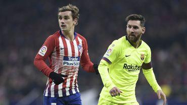 """Jouer avec Messi, """"une joie incroyable"""" pour Griezmann"""