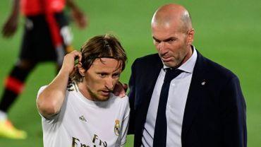Zidane et Modric