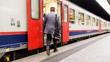 Un accompagnateur de train (image d'illustration)