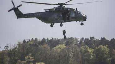 Un exercice grandeur nature de l'armée débarque à Nivelles !