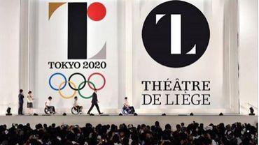 Le logo du théâtre de Liège plagié par les Jeux olympiques ? Photo montage