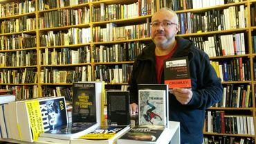 """Passionné de polars, Alain a créé la libraire """"Polar & Co"""""""