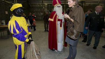 La princesse Mathilde à la journée des familles des militaires