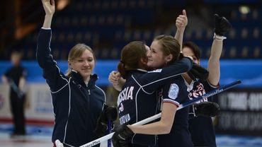 Les Russes championnes d'Europe de Curling