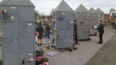 Une quarantaine de loges funéraires ont été profanées