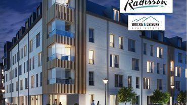 Au Cadran, le futur hôtel de Bricks & Leisure se construit, et se vend bien