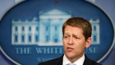 Le porte-parole de la Maison Blanche Jay Carney le 21 juin 2012 à Washington
