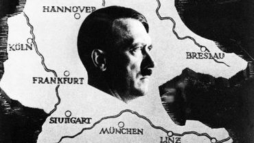 Carte commémorative de l'Anschluss, éditée par l'administration des postes du IIIe Reich à l'occasion du plébiscite du 10 avril 1938