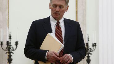 """Le Kremlin tempête contre les sanctions """"inadmissibles"""" de Washington"""