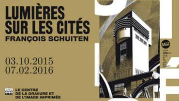 """""""Lumières sur les Cités"""", François Schuiten au Centre de la Gravure à la Louvière"""