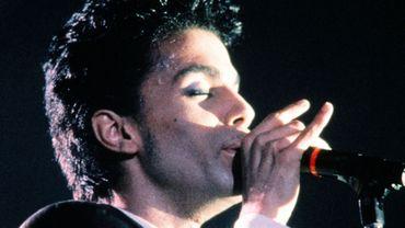 Prince en concert au Zénith à Paris en 1986