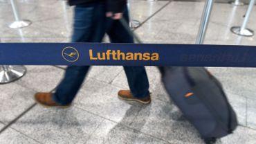 Grève des pilotes chez Lufthansa: 14 vols annulés en Belgique