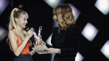 Angèle récompensée aux Victoire de la musique