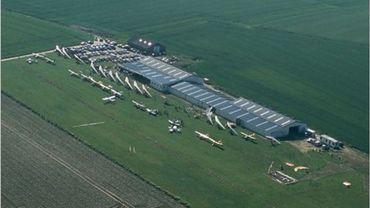 L'aérodrome de Liernu