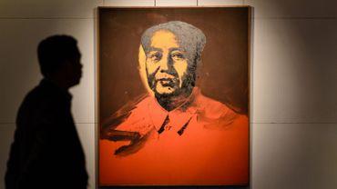 Un portrait de Mao réalisé par Warhol mis aux enchères à Hong Kong