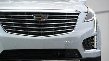 La nouvelle Cadillac XT5 dévoilée au Salon automobile de Los Angeles le 19 novembre 2015