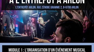 Modules de formation à L'Entrepôt à Arlon