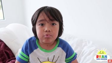 Ryan ToysReview est une star de youtube, il a 7 ans.