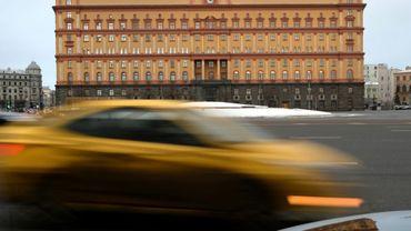 Siège des services de sécurité russes FSB (ex-KGB) place Loubianka à Moscou, le 30 décembre 2016