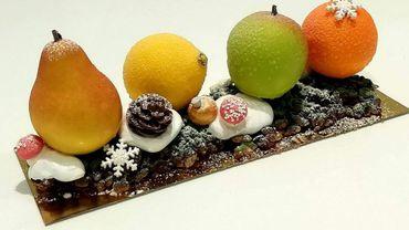 Les fruits en chocolat sont d'un réalisme saisissant