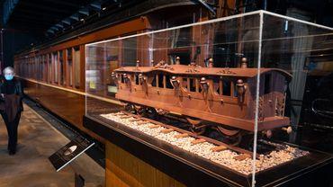 Le chocolat à l'honneur à Train World à Schaerbeek