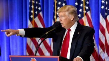 Donald Trump s'en est pris aux médias au cours de sa conférence de presse