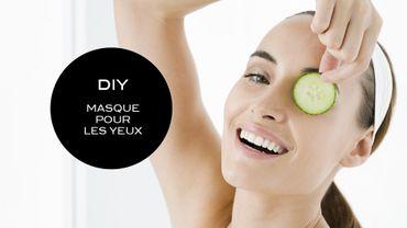 DIY Beauté : un masque pour les yeux au concombre et à la pomme de terre