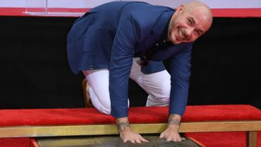 Rapper Pitbull honored in Hollywood with Hand and Footprint Ceremony