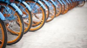 Ces conteneurs, fermés à clef, peuvent contenir chacun cinq vélos