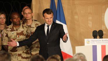 Emmanuel Macron a réveillonné avant l'heure vendredi, avec des centaines de soldats français déployés au Niger