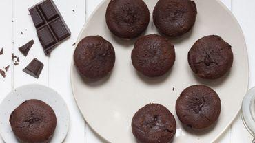 Fondant au chocolat à la farine de maïs