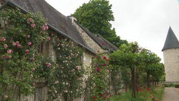 Le jardin du château du Rivau