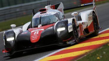 6h de Spa: La Toyota 8 s'impose avec moins de 2 secondes d'avance sur la 7