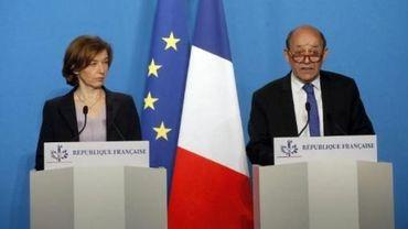 """Jean-Yves Le Drian: l'opération en Syrie est """"légitime"""", """"proportionnée"""" et """"ciblée""""."""