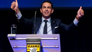 Tom Van Grieken, président du Vlaams Belang est celui qui a misé sur les réseau sociaux.