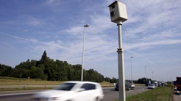 Onze nouveaux radars vont être installés sur les routes wallonnes