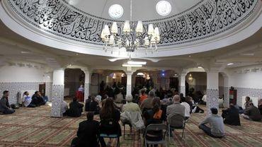 La mosquée de Gand (illustration).