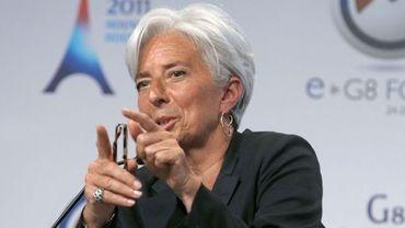 Christine Lagarde, ministre française de l'Economie
