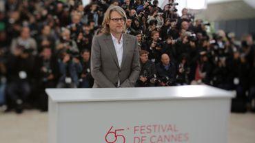 """Andrew Dominik au Festival de Cannes, en 2012, pour la présentation de """"Cogan : Killing them Softly"""""""