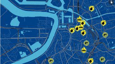 Plus de 60 incidents liés à la drogue ont eu lieu en trois ans à Anvers.