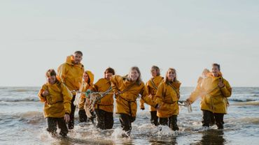 Flânerie sonore à Ostende avec de drôles de dames amoureuses de la Mer du Nord