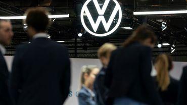 Au Salon de l'automobile de Bruxelles, le 9 janvier 2020