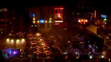 Le marché de Noël de Charleroi place de la Digue