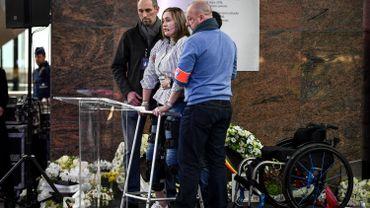 Beatrice de Lavalette, l'une des survivantes, a tenu un discours poignant.