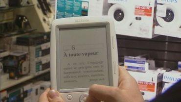 Un e-book: les dépenses en produits électroniques devraient marquer le pas 2014