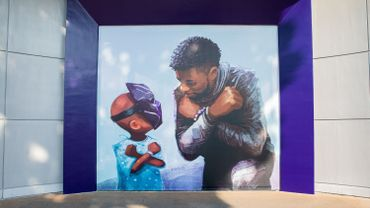 Chadwick Boseman : Disney inaugure une fresque à la mémoire de Black Panther