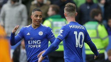 Deux passes décisives pour Tielemans lors du partage de Leicester face à Chelsea