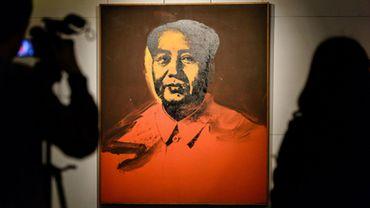 Le portrait sérigraphié de l'ancien dirigeant chinois Mao Tsé-toung a été réalisé en 1973 par Andy Warhol
