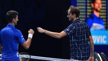 Masters: Daniil Medvedev domine Novak Djokovic et entrevoit les demies