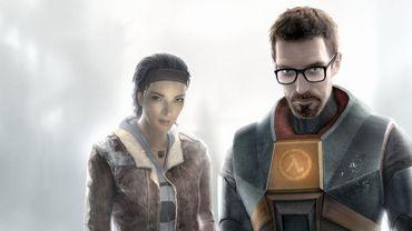 """Gordon Freeman (D) et Alyx Vance, les célèbres héros de """"Half-Life 2""""."""